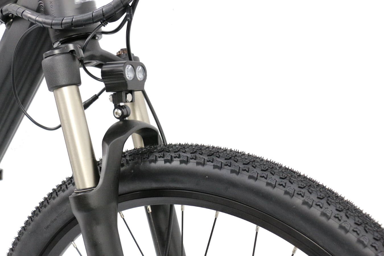 Weave Sport Front Headlight & Suspension